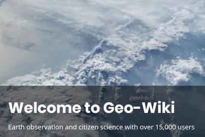 Лекция «Интернет платформа Gеo-Wiki.org — возможность для всех принять участие в глобальной научной работе»